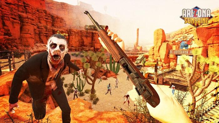 """""""Arizona Sunshine"""" คว้าจอยปืนโซนี่ มายิงซอมบี้ 27 มิ.ย."""