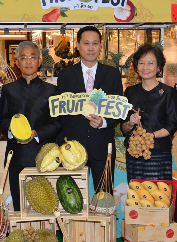 """อิ่มได้ไม่อั้นในราคาเดียว ที่ """"Bangkok Fruit  Fest"""" บุฟเฟ่ต์ผลไม้คุณภาพคัดเกรด"""