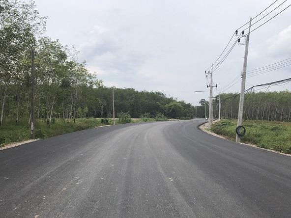"""ทช.เชื่อมถนน """"สงขลา-ปาดังเบซาร์"""" หนุนการค้าชายแดนไทย-มาเลเซีย"""