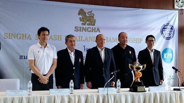 13 สควอชไทยพร้อมบู๊ซีเกมส์ มุ่งเป้าเหรียญทอง