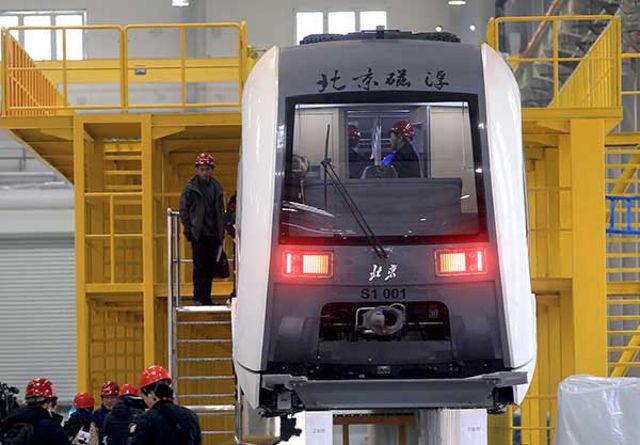 จีนเริ่มทดสอบรถไฟลอยตัวพลังแม่เหล็กไฟฟ้าในกรุงปักกิ่ง