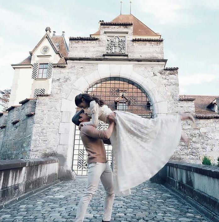 """หวานต่างแดน!! """"ณเดช -ญาญ่า"""" ส่งภาพสวีท...นึกว่าขอแต่งงานอีกคู่"""