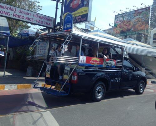 รถโดยสาร จะต้องจอดตามจุดที่พักผู้โดยสารด้วย