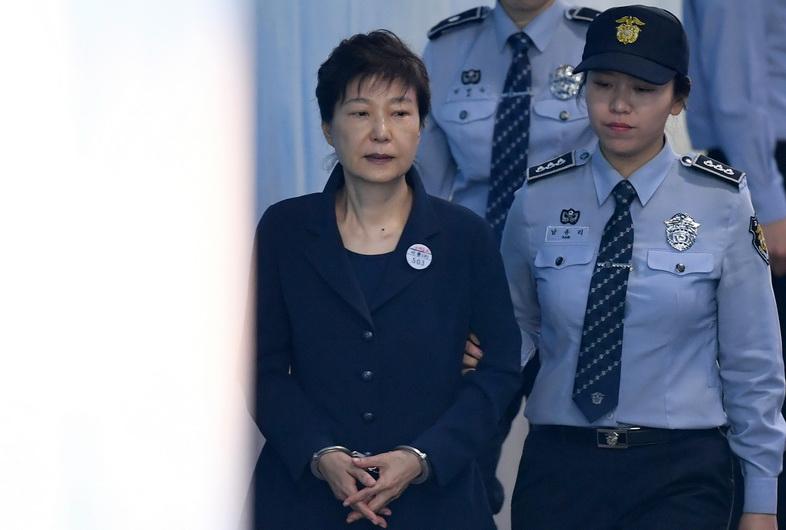 อดีตประธานาธิบดี พัค กึน-ฮเย แห่งเกาหลีใต้