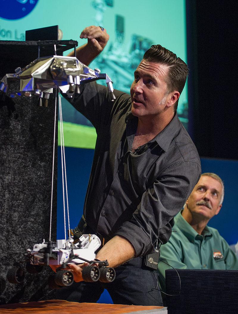 Adam Steltzner อธิบายกระบวนลงจอดของยาน Curiosity