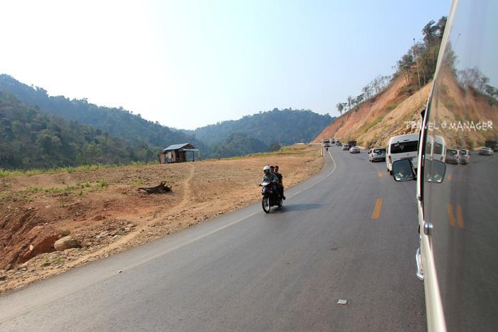 ถนนสายใหม่เมียวดี-ก๊อกกาเร็ก ทำให้การเดินทางจากแม่สอดสู่เมาะละแหม่งสะดวกรวดเร็วขึ้น