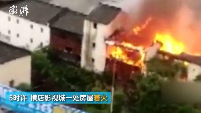 """พระเพลิงโหมโรงถ่าย """"ฮอลลีวูดจีน"""" ชาวบ้านนึกว่าถ่ายหนัง ไม่มีใครแจ้งดับเพลิง"""