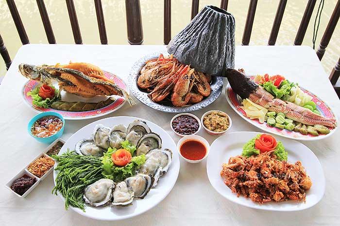 """""""กุ้งอบภูเขาไฟ"""" อาหารไทยถูกปาก คุณภาพคับจาน"""