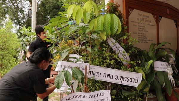 งานศพต้นแบบ! อดีต ผอ.กศน.เลยสั่งเสียก่อนตาย ขอต้นไม้เพื่อปลูกป่าแทนพวงหรีด (ชมคลิป)