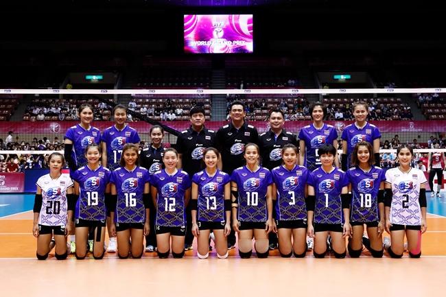 ทีมวอลเลย์บอลหญิง ทีมชาติไทย ยังไร้ชัย ศึก WGP 2017