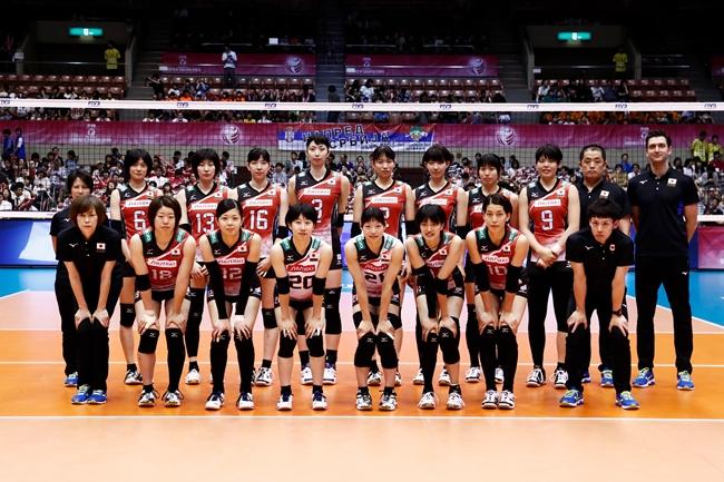 ทีมวอลเลย์บอลหญิง ทีมชาติญี่ปุ่น