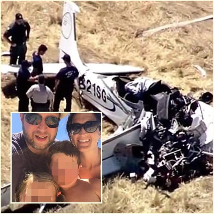 """InPics:สุดเศร้า! ทายาทเจ้าของยีนส์ """"ลีวาย"""" ขับเครื่องบินเล็กส่วนตัวตกในแคลิฟอร์เนีย เสียชีวิต"""