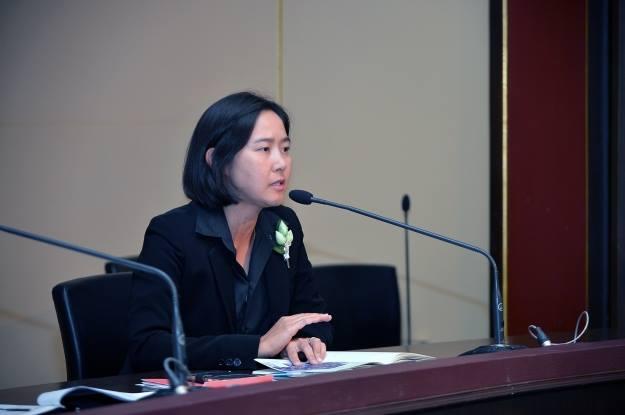 พ.อ.หญิงทักษดา สังขจันทร์ ผู้ช่วยโฆษกประจำสำนักนายกรัฐมนตรี (แฟ้มภาพ)
