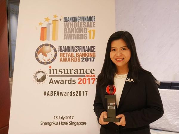 """เอไอเอ ประเทศไทย คว้ารางวัล """"International Life Insurer of the Year 2017"""""""
