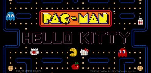 """""""เฮลโล คิตตี้"""" ผนึกกำลัง """"แพคแมน"""" ร่วมล่าผีเกมโมบาย"""