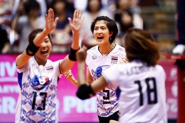 เสียงเชียร์กระหึ่ม! สาวไทย ตบ ตุรกี คว่ำ 3-0