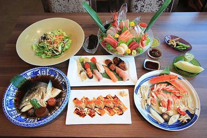 """""""TORA SUSHI"""" อาหารญี่ปุ่นพรีเมียม รสยอดเยี่ยมโดนใจ"""