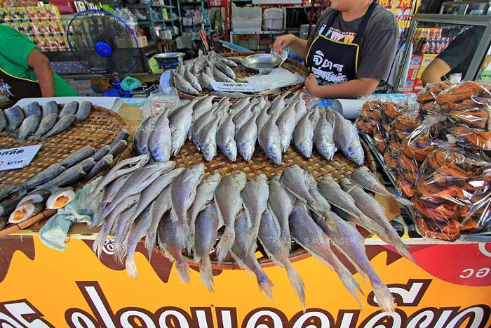 ปลาม้าแดดเดียวของขึ้นชื่อของสุพรรณบุรี