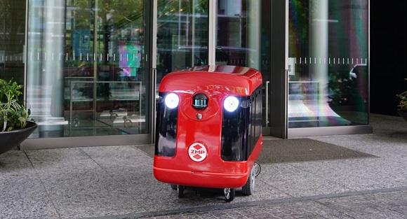 ญี่ปุ่นเริ่มทดสอบการส่งสินค้าโดยหุ่นยนต์อัตโนมัติ