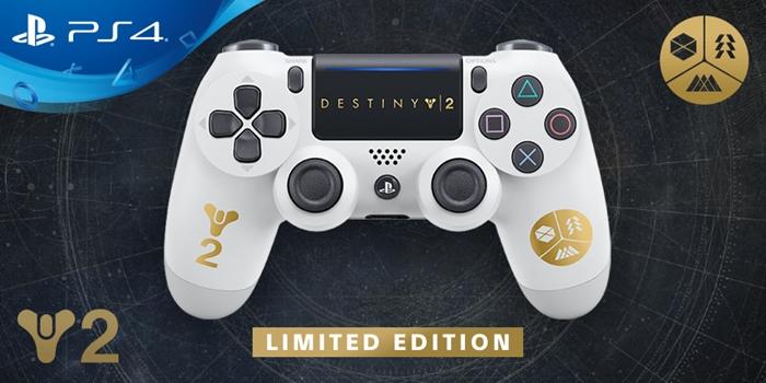 """เปิดตัว จอย PS4 ลิมิเต็ด สีขาว-ทอง ต้อนรับ """"Destiny 2"""""""