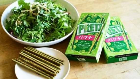 """ชอบจริงชอบจัง  ญี่ปุ่นวางขาย """"กูลิโกะ รสผักชี"""" , """"ขนมเค้กผักชี"""""""