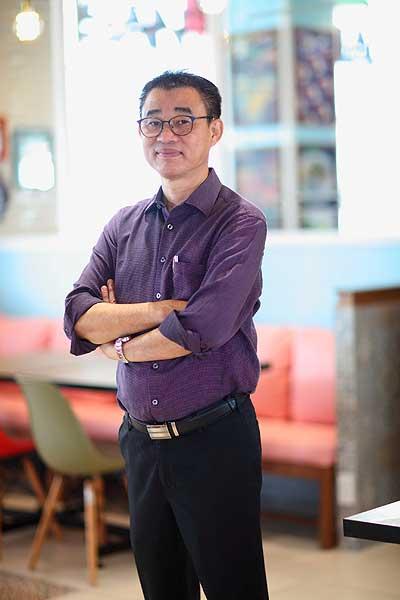 คุณเจษฎา กรีสุระเดช ผู้จัดการกลุ่มร้านอาหารในเครืออิมแพ็ค