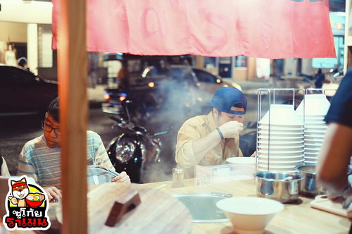 ซดบะหมี่ญี่ปุ่นริมทาง