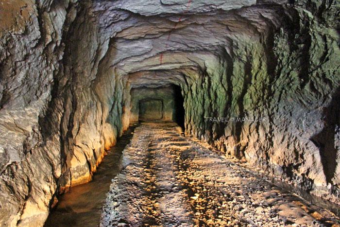 อุโมงค์เหมืองสองท่อ แหล่งท่องเที่ยวน่าตื่นตาของ จ.กาญจนบุรี