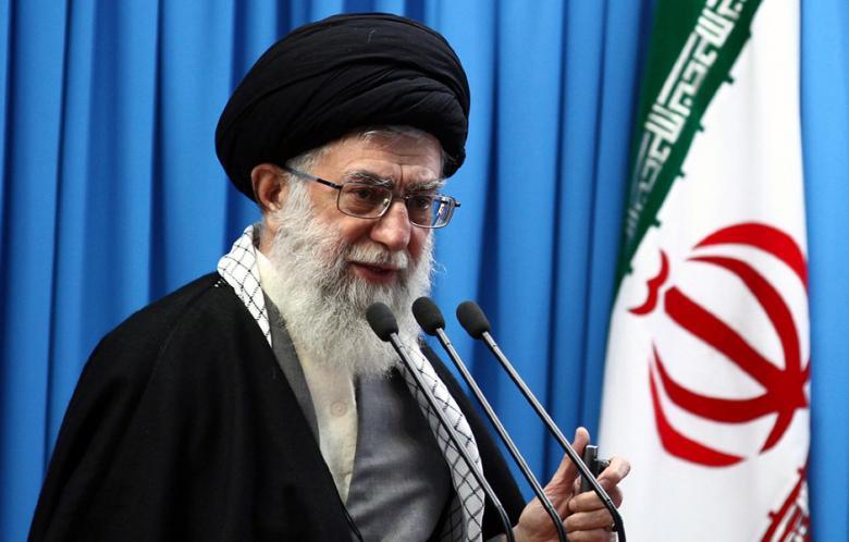- อยาตอลเลาะห์ อาลี คาเมเนอี ผู้นำสูงสุดของอิหร่าน