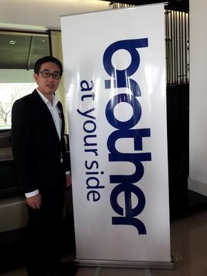 นายธีรวุธ ศุภพันธุ์ภิญโญ ผู้อำนวยการฝ่ายขายและการตลาด บริษัทบราเดอร์ คอมเมอร์เชียล(ประเทศไทย)จำกัด
