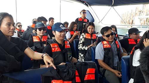 """เจ้าท่าตราดเตรียมรับมือผู้เข้าร่วมกิจกรรม """"Koh Mak Island Run 2017"""""""