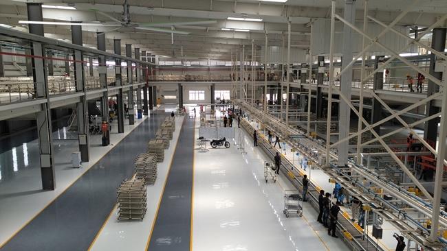 รอยัล เอนฟิลด์ เปิดโรงงานแห่งที่สามในอินเดีย