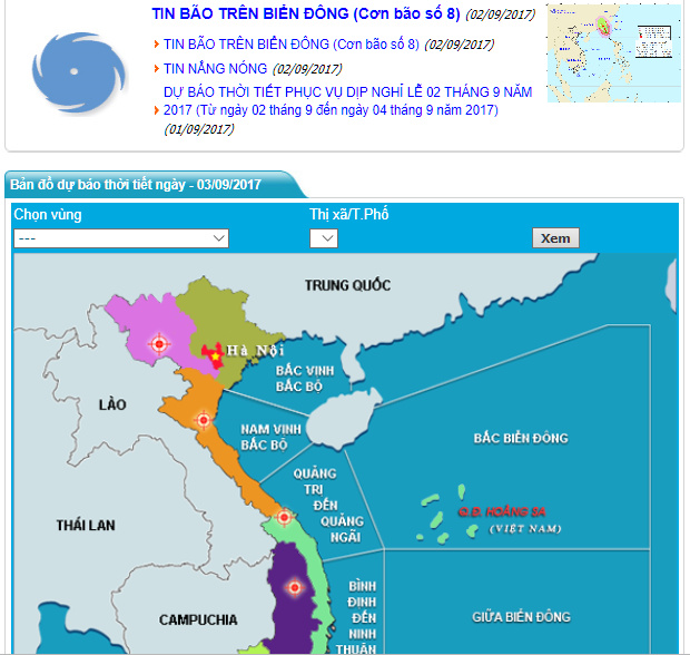 กฎหมายใหม่เวียดนาม.. พยากรณ์อากาศผิด รายงานช้า-รายงานผิดปรับเฉียดแสน