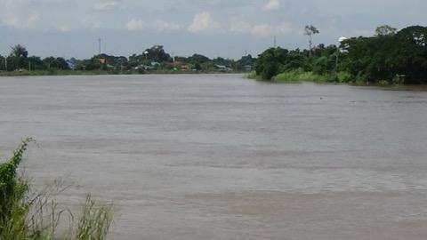 เฝ้าระวังลุ่มแม่น้ำเจ้าพระยา หลังฝนตกอย่างต่อเนื่องในภาคเหนือ