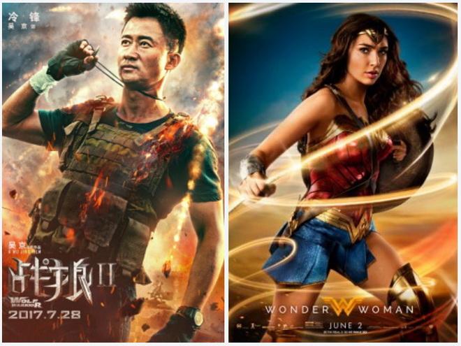 """แรงเหลือเชื่อ! หนังจีน """"Wolf Warrior 2"""" ทำเงินทั่วโลกแซงหน้า """"Wonder Woman"""""""