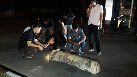 ระทึกรถ 6 ล้อเติมก๊าซ NGV ถังระเบิดคาหัวจ่ายหามส่งโรงพยาบาล 4 ราย