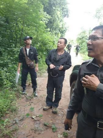 จนท.เดินเท้าบุกป่าแม่วงก์ ตรวจจุดปะทะแก๊งค้าไม้หอม เจ็บ 1 ดับ 1