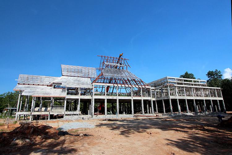 พิพิธภัณฑ์มรดกทางศิลปวัฒนธรรมอิสลาม และศูนย์การเรียนรู้ อัล-กุรอาน ที่วันนี้(ก.ย. 60) กำลังอยู่ระหว่างการดำเนินการก่อสร้าง