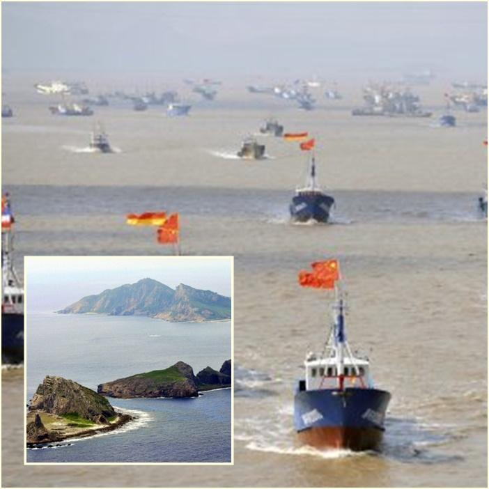 """InClip: โตเกียวฉลองครบรอบ 5 ปีเหนือ """"เซ็งกะกุ"""" สะเทือน!! ประมงจีนรับหน้าตาเฉย """"ปักกิ่งอยู่เบื้องหลัง บุกเข้าหมู่เกาะพิพาท"""