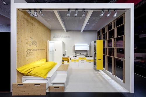 """""""เฮเฟเล่"""" โชว์นวัตกรรมตัวต่อเฟอร์นิเจอร์รุ่นใหม่ (Furniture Connector)"""