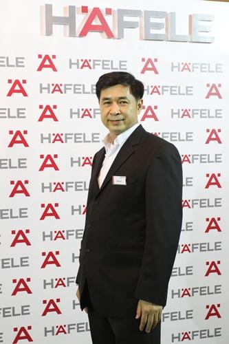 นายโยธิน ประเสริฐกุล ผู้จัดการการตลาดทั่วไป บริษัท เฮเฟเล่ (ประเทศไทย) จำกัด