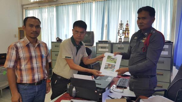 หัวหน้าหน่วยป้องกันรักษาป่าที่ บร.5 จ.บุรีรัมย์  ร่วมกับ อ.อ.ป. เข้าแจ้งความดำเนินคดีผู้บุกรุกปลูกสร้างที่อยู่อาศัยและร้านค้า ในเขตป่าสงวนโคกโจด หน้าสนามบินบุรีรัมย์ 8 ราย วันนี้ ( 14 ก.ย.)