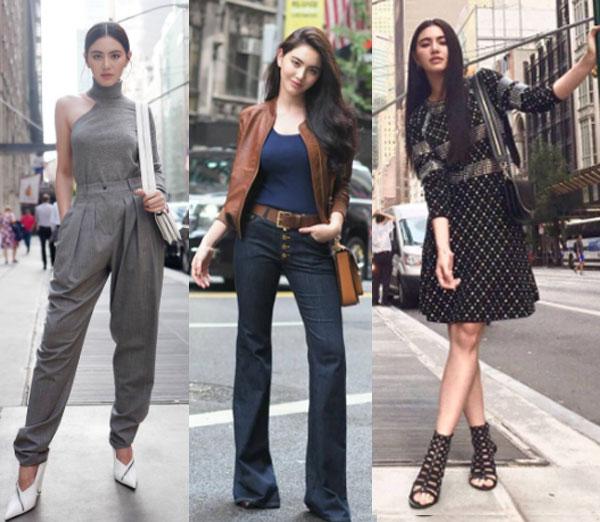 """""""ใหม่ ดาวิกา"""" สวยหรู ดูแพง ร่วมงาน New York Fashion Week"""