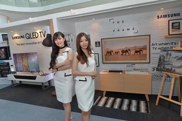 ซัมซุงเดินหน้าสร้างประสบการณ์ให้ผู้บริโภค จัดป๊อป อัพ สโตร์ พร้อมคาราวานสร้างสีสันใจกลางเมือง ชูนวัตกรรมทีวีที่ดีที่สุด 2 รุ่นแห่งปี  Samsung QLED TV และ Samsung The Frame