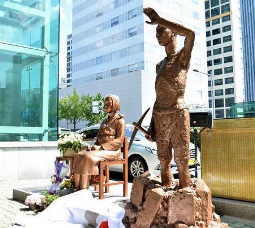 """ญี่ปุ่นกริ้ว เกาหลีเตรียมตั้งรูปปั้น """"แรงงานทาส"""" ประจานประวัติศาสตร์อัปยศ"""