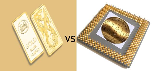 ทองคำ VS บิทคอยน์