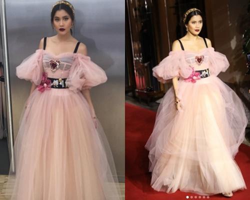 """งดงามดุจเจ้าหญิง """"ปู ไปรยา"""" เดินแบบให้ """"Dolce & Gabbana"""" แบรนด์ดังระดับโลก"""