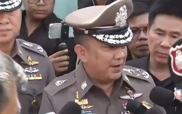 พล.ต.อ.ศรีวราห์ รังสิพราหมณกุล รองผู้บัญชาการตำรวจแห่งชาติ