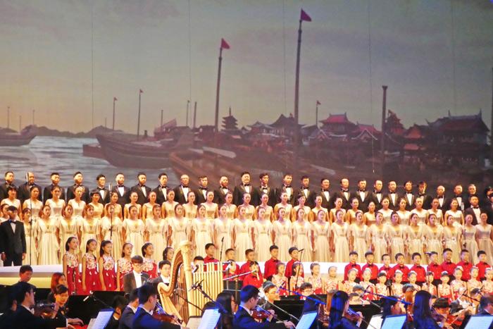 การแสดงในวันเปิดงาน The Asia Art Festival
