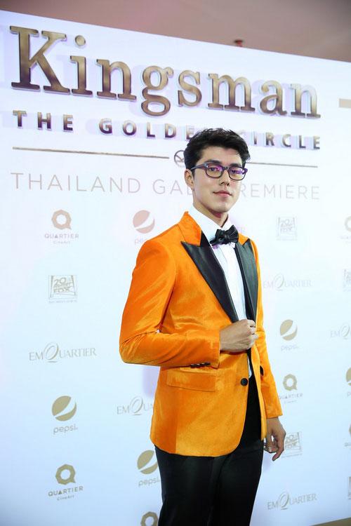 """""""นาย ณภัทร"""" ปะทะ 5 หนุ่มหุ่นล่ำ ในงาน """"Thailand Gala Premiere Kingsman : The Golden Circle"""""""